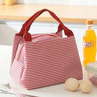 【保温保鲜】学生饭盒袋午餐包防水保温包手提妈咪包便当包收纳包