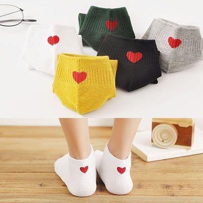 【精品5-10双】袜子女中筒袜韩版学院风潮流可爱百搭短袜四季棉袜