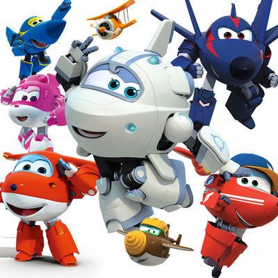 超级飞侠玩具套装全套单只大号乐迪小爱多多变形机器人玩具