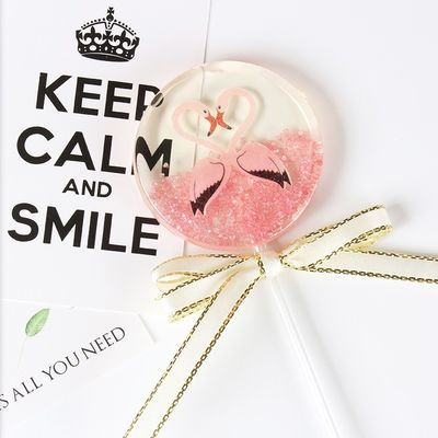创意星空樱花棒棒糖手工水晶棒棒糖送男女友生日浪漫圣诞节糖果