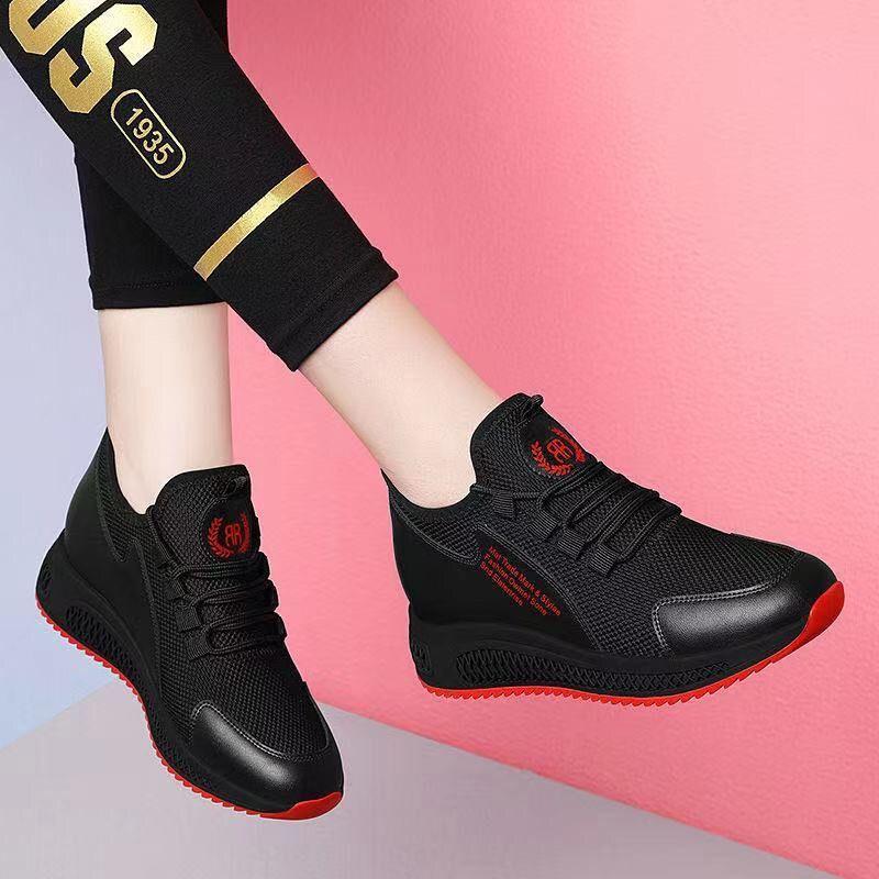 2020鞋子女鞋冬季加绒运动鞋韩版百搭休闲鞋软底保暖妈妈鞋女士鞋