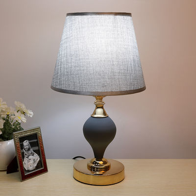 LED护眼台灯卧室床头灯现代简约网红插电学习调光暖光ins装饰台灯