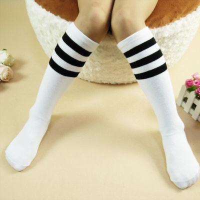 儿童长筒袜薄款春秋夏季学生校服袜女童中筒袜子纯棉六一儿童袜子