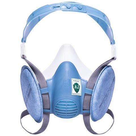 宝顺安KN100防毒面具工业粉尘煤矿装修打磨电焊防尘防霾硅胶透气