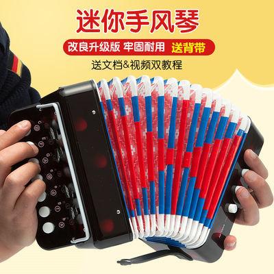 儿童手风琴7键成人儿童学生老人初学者都可玩音乐启蒙乐器送背带
