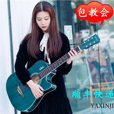 包教学正品38寸41寸吉他成人民谣吉他初学者学生吉他新手琴乐器
