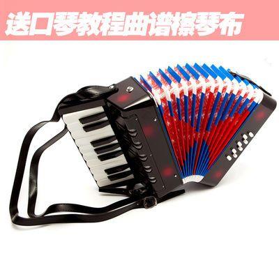 17键8贝司手风琴儿童学生成人初学者演奏乐器早教音乐启蒙送背带