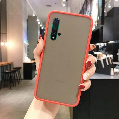 华为nova5手机壳网红男女硅胶nova5i磨砂防摔5z全包pro透明可爱潮