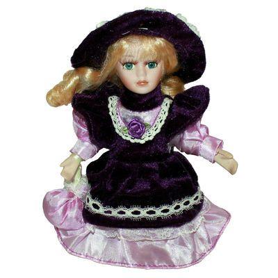 Kevina20厘米陶瓷娃娃公仔玩偶圣诞礼品洋娃娃