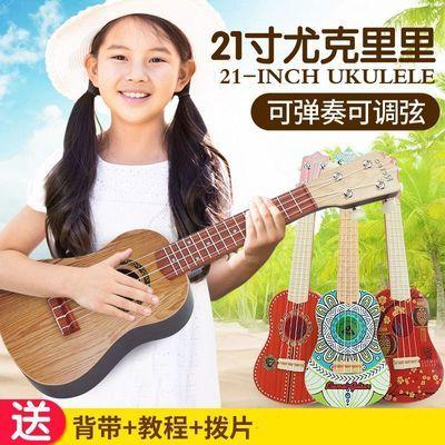 尤克里里乐器初学者小孩音乐男孩儿童吉他玩具可弹奏迷你21寸女孩