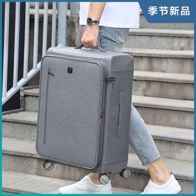 牛津布拉杆箱万向轮16寸商务行李箱男大容量帆布旅行箱24寸