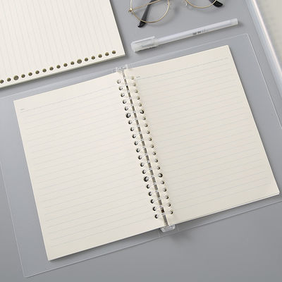 送贴纸活页笔记本本子B5网格本横线本英语本可拆卸A5活页本手账本【3月18日发完】