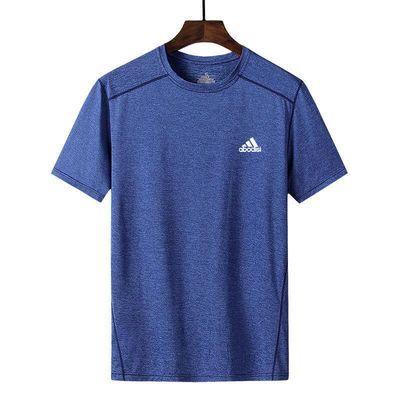 健身短袖男宽松夏季速干跑步T恤吸汗透气冰丝篮球训练运动上衣服