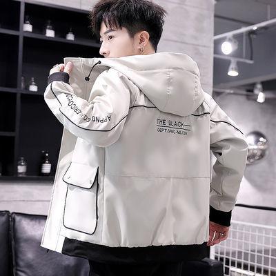 男士外套20新款春秋季韩版潮流青年学生衣服帅气休闲工装夹克男装