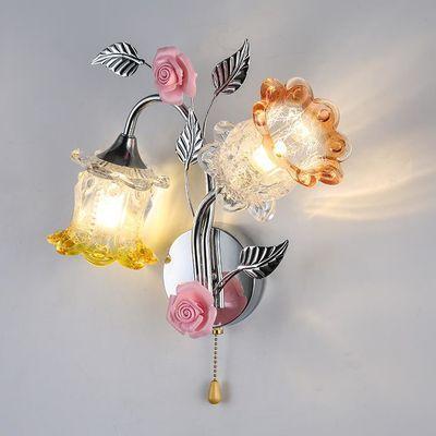 壁灯卧室床头灯墙壁灯简约现代创意欧式美式客厅led楼梯过道灯具