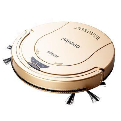 PapaGo扫地机器人超薄家用智能吸尘器全自动擦地拖地机清洁一体机