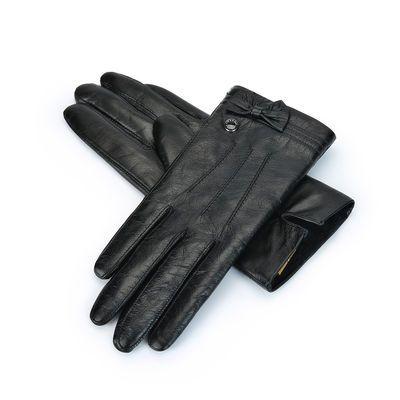 稻草人手套男骑车冬季加绒加厚防风保暖触屏电动车摩托车骑行手套