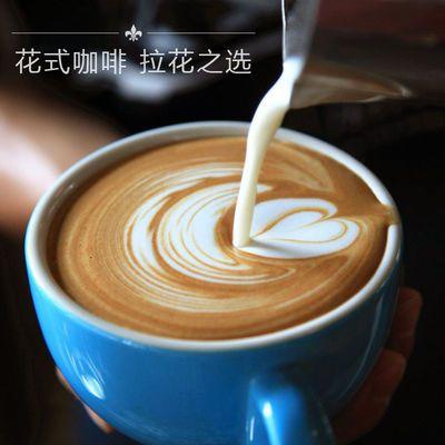 咖啡豆进口意大利特浓鲜烘焙意式浓缩咖啡馆专用无糖现磨黑咖啡粉