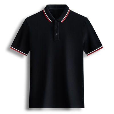 polo衫男短袖潮流翻领T恤夏季半袖情侣装男士衬衫领学生宽松上衣