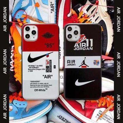 Nike苹果11手机壳11Promax耐克XSMAX运动XS潮牌XR/7P/8Plus软壳6s