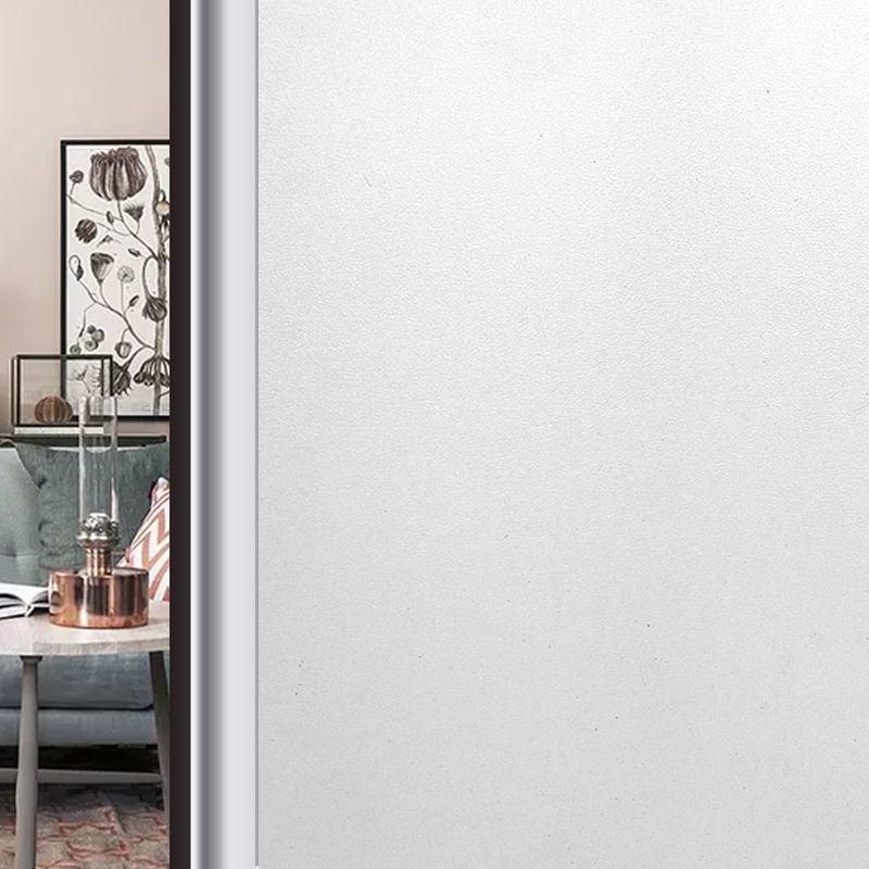 静电磨砂玻璃贴纸透光不透明窗贴防隐私浴室卫生间办公室玻璃贴膜