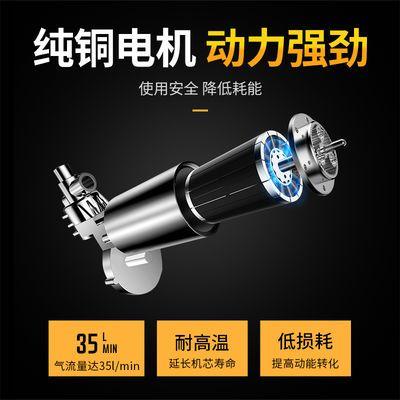 车载充气泵12V便携式小轿车加气泵电动汽车用打气筒轮胎大功率