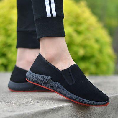 【牛筋底】新款老北京布面单鞋透气舒适男士运动鞋防滑休闲工作鞋