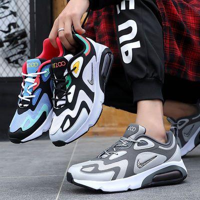 新款MAX270气垫鞋老爹运动鞋aj1网面透气跑步鞋春夏学生休闲男鞋