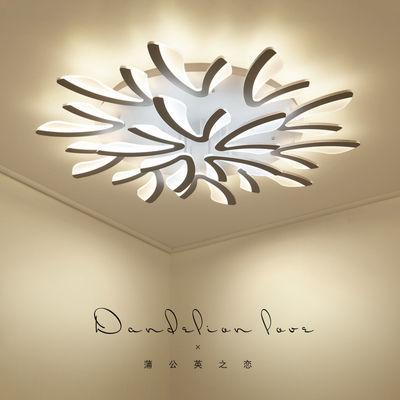 艺术led吸顶灯北欧卧室灯浪漫温馨餐厅灯 简约后现代客厅大气创意
