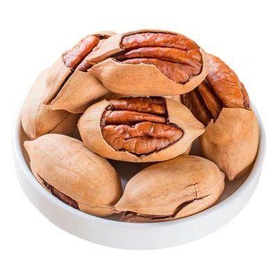 新货奶油碧根果美国山核桃含罐500g原味坚果散装1斤批发袋装250g