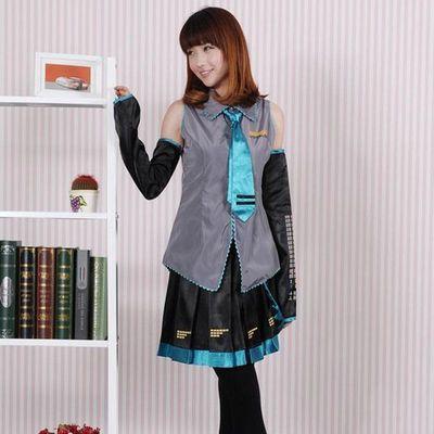 cosplay服装女V家族初音MIKU初音未来公式服cos服假发鞋子c服全套