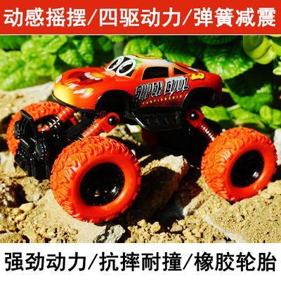 大号合金越野车玩具车儿童四驱汽车玩具男孩宝宝回力车翻斗车套装