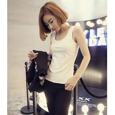 【买三送一】工字小吊带背心女纯色棉质性感修身短款韩版内穿外搭