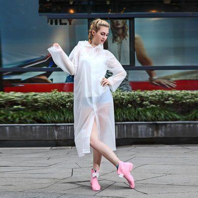 成人非一次性雨衣 EVA时尚雨衣旅游户外雨衣 徒步雨披 雨具 均码