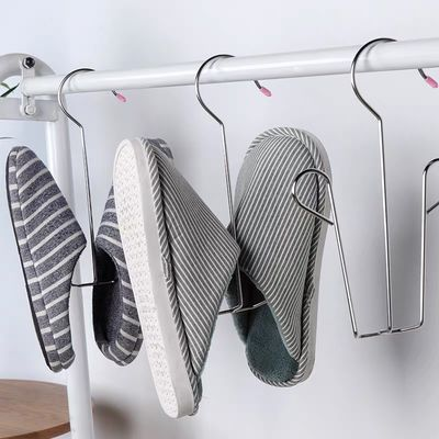 【可选顺丰配送】不锈钢晒鞋神器晾鞋架多功能晒鞋架窗台室外阳台