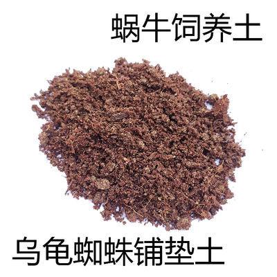 白玉蜗牛饲养土乌龟垫材陆龟冬眠底材黄缘龟红玫瑰蜘蛛椰土钙沙