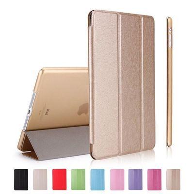 iPad钢化膜+皮套壳 平板保护套mini1/2/3/4Air带休眠iPad5/6/2018