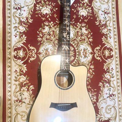 全新4000全单吉他41寸非雅马哈FG830卡马G1可加电箱 全新,无暗病