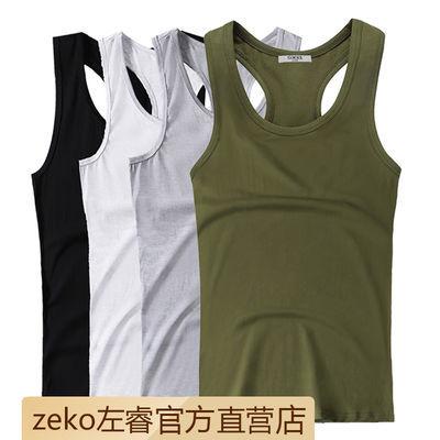 工字背心男士夏季纯棉弹力紧身修身型打底衫青年跨栏运动健身潮流