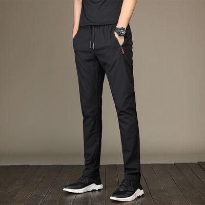 男士休闲裤新款运动裤修身青少年韩版休闲小脚裤男式长裤潮流时尚