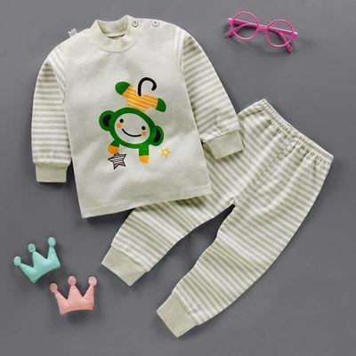 儿童保暖内衣套装加绒男女童三层夹棉秋衣秋裤两件套中小童1-5岁
