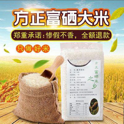 东北大米10斤长粒香大米新米东北特产方正富硒大米黑龙江高端米砖