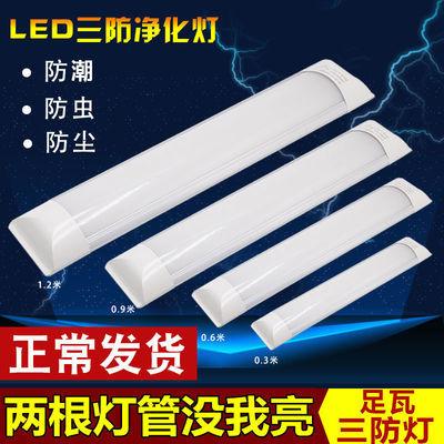 【超亮led灯管】【双排led灯珠三防灯】LED超亮一体净化灯日光灯