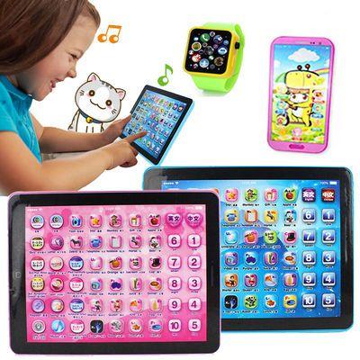 儿童早教平板电脑点读机 宝宝益智ipad学习机幼儿早教玩具1-3-6岁