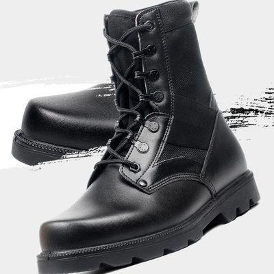 超轻作战靴战靴男高帮作训羊毛靴cqb战术靴特种兵作战靴棉鞋
