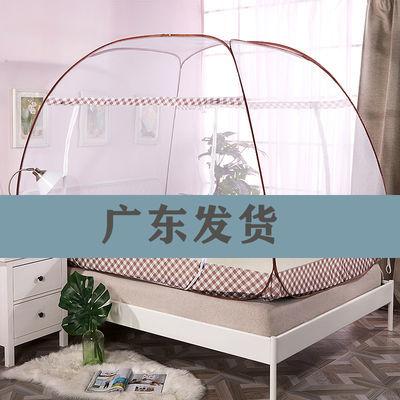 蒙古包蚊帐免安装单双门防摔1.5米双人1.8家用学生宿舍上下铺90cm
