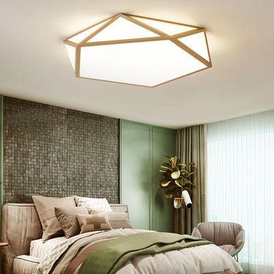 吸顶灯LED几何大气客厅灯温馨卧室灯儿童房间灯个性创意灯具灯饰