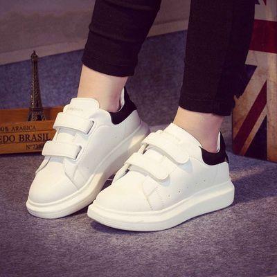 秋季新款儿童休闲鞋女童小白鞋韩版男童运动鞋单鞋白色鞋宝宝板鞋