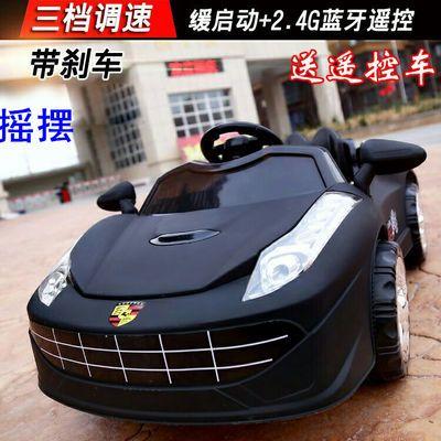 儿童电动车四轮双驱动遥控汽车男女宝宝充电摇摆小孩玩具车可坐人
