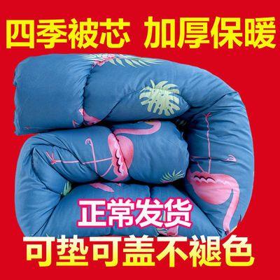 冬季羽丝棉被子卡通被芯学生单人宿舍春秋棉被夏凉被双人空调被褥